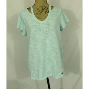 Calvin Klein Performance Cut-Out Quick Dry Top EUC